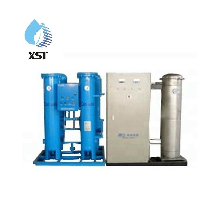 Industrial Stainless Steel 100g/h Water Treatment Ozone Generator