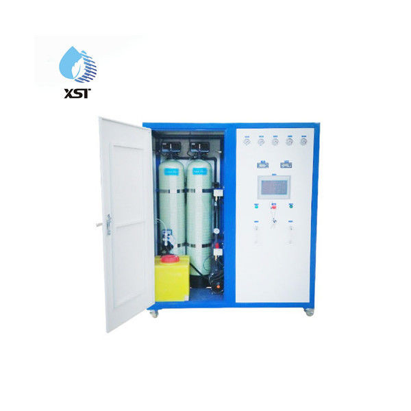 Containerized Water Treatment Plant Reverse Osmosis System With BOX